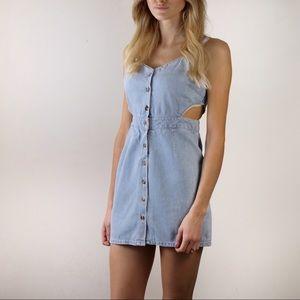 Forever 21 Size XS Denim Mini Dress